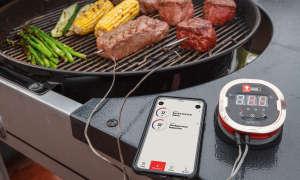 Grillen wird smart: Digitale Grillhelfer mit App-Steuerung im Praxis-Check - Weber iGrill 2 Thermometer