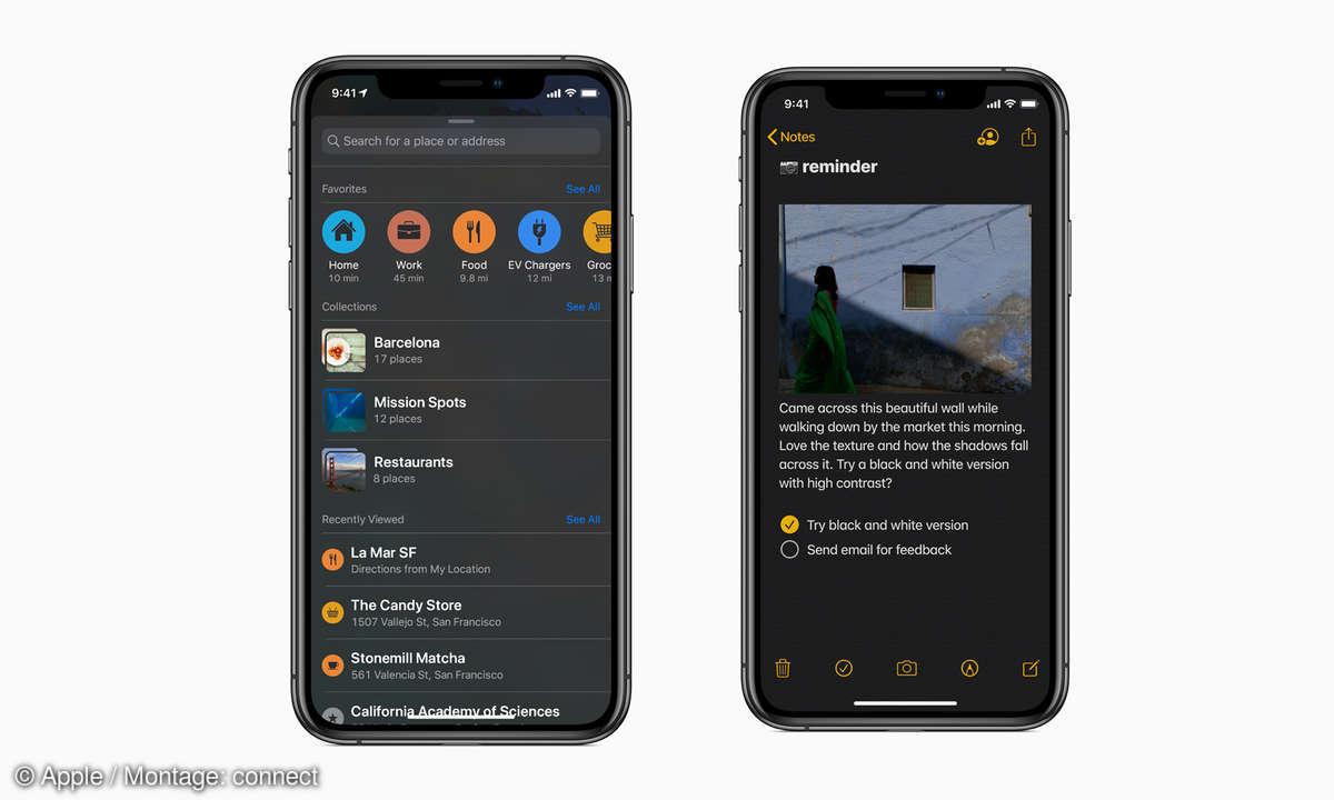 iphone dark mode ios 13