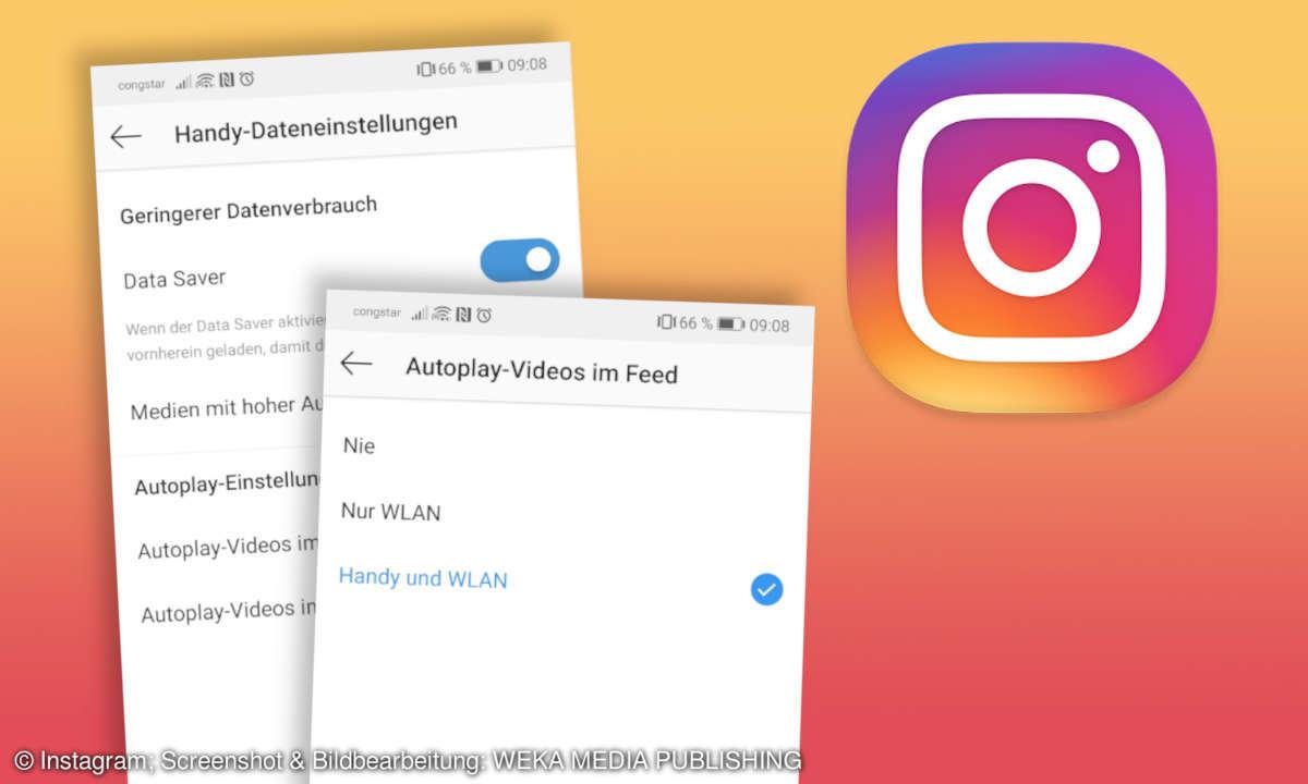 Instagram Datenverbrauch