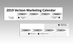 2019 Verizon Marketing Calendar