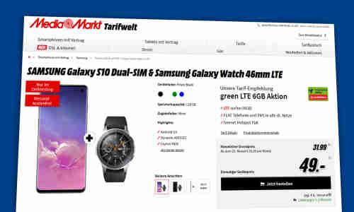 handyvertrag mit smartwatch