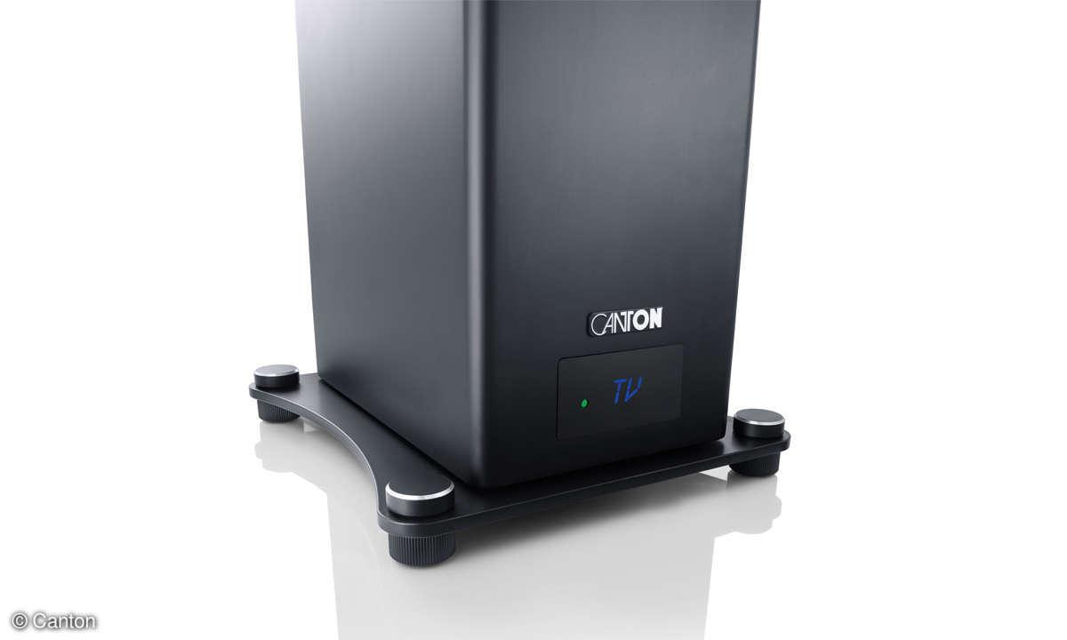 Canton A25 Smart im Test - Display