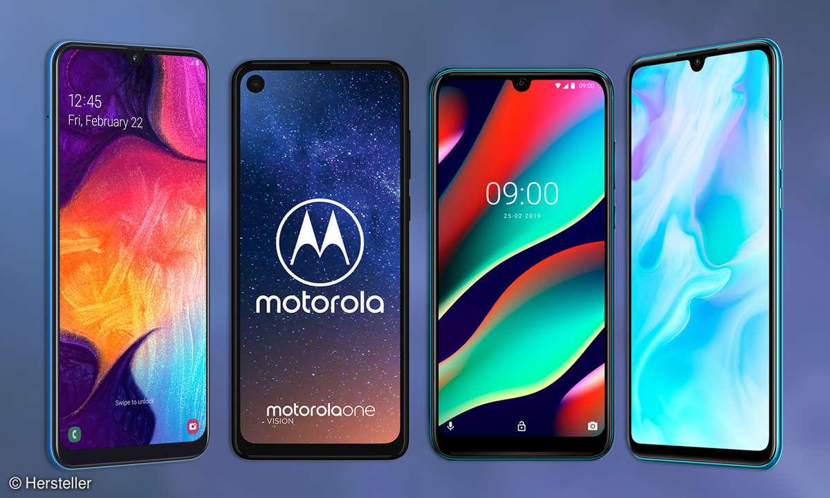 Mittelklasse-Smartphones