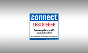 connet Testsiegel Samsung Galaxy A50