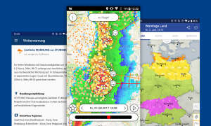 unwetterwarnung wetter apps android ios