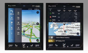 Volvo V60 im Test: Navigation