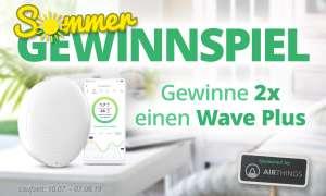 Airthings Wave Plus - Gewinnspiel