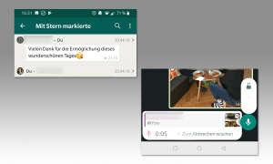 WhatsApp Tuning: Favoriten festhalten & Sprachnachricht ohne Drücken