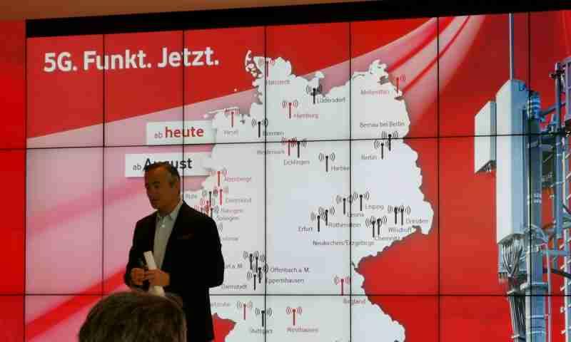 Vodafone startet offiziell ins 5G Zeitalter