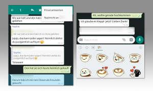 WhatsApp Tuning: Private Antwort im Gruppenchat & Sticker verwenden