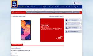 Aldi Süd Samsung Galaxy A10
