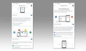 Android ohne Google - Google-Dienste einschränken: Aktivitäten verwalten