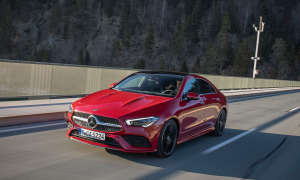 Mercedes CLA 200 Coupé im Test