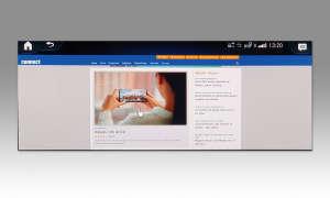 Mercedes CLA 200 Coupé: Connectivity - Browser