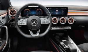 Mercedes CLA 200 Coupé: Infotainment