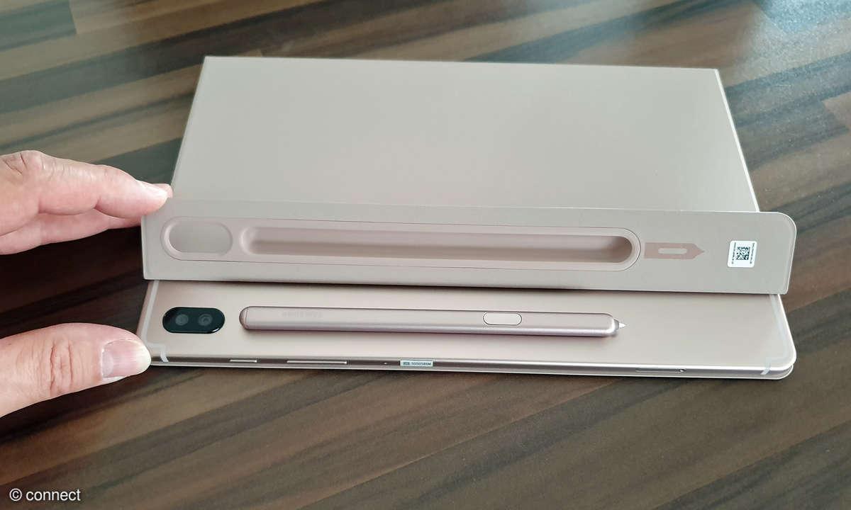 Samsung Galaxy Tab S6 mit Book Cover