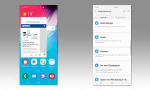 Samsung Galaxy S10 5G im Test - Screenshots
