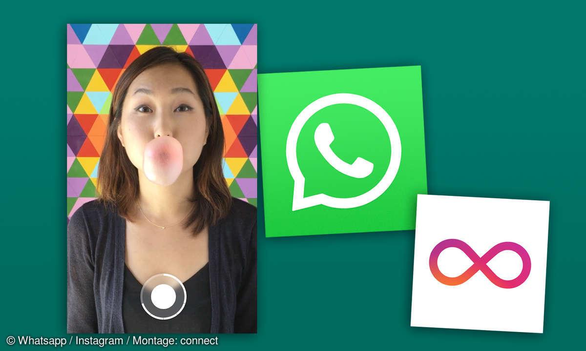 whatsapp boomerang feature