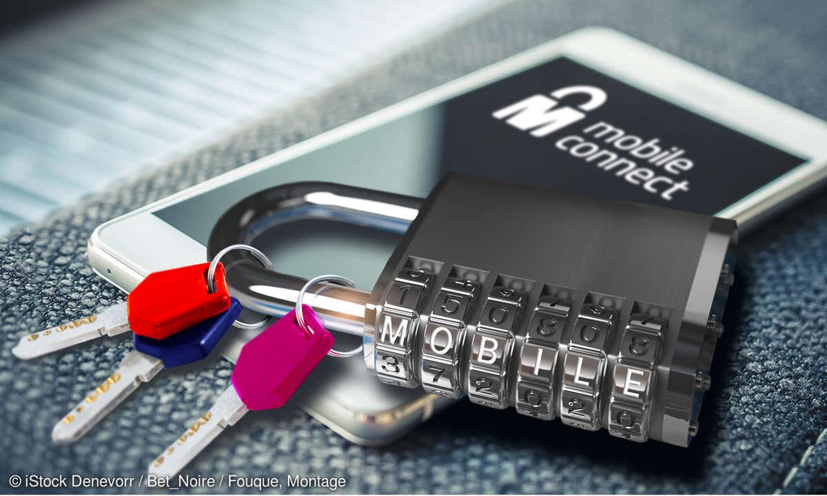 Mobile Connect-Login-Dienst