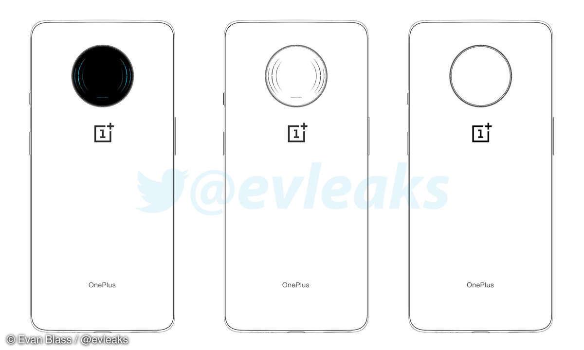 OnePlus 7T Skizze - Leak von Evan Blass