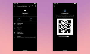 Android 10 WLAN teilen