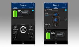 Hyundai Ioniq Elektro Screens App
