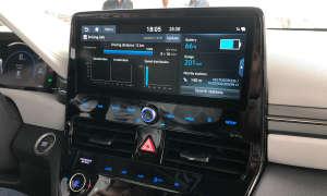 Hyundai Ioniq Elektro Navigation