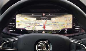 Skoda Karoq im Test - Navigation