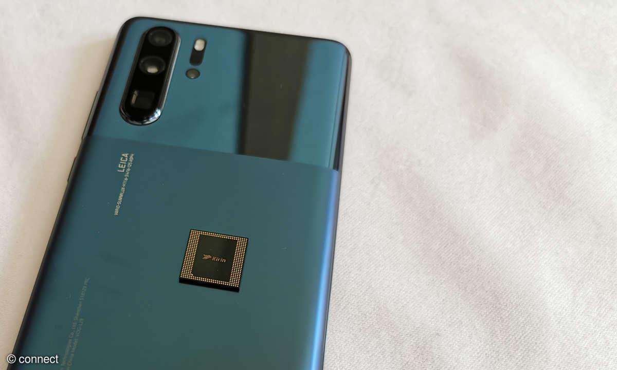 Huawei Kirin 990 auf Huawei P30 Pro