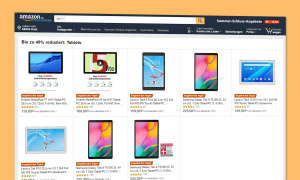 amazon tablet angebote huawei samsung lenovo