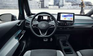 vw id3 cockpit innenraum connectivity