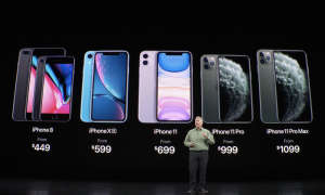 iPhone Lineup 2019