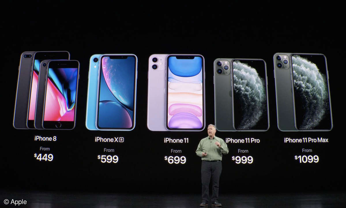iPhone Lineup 2019
