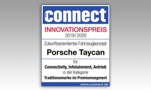 Porsche Taycan IAA 2019 Innovationspreis