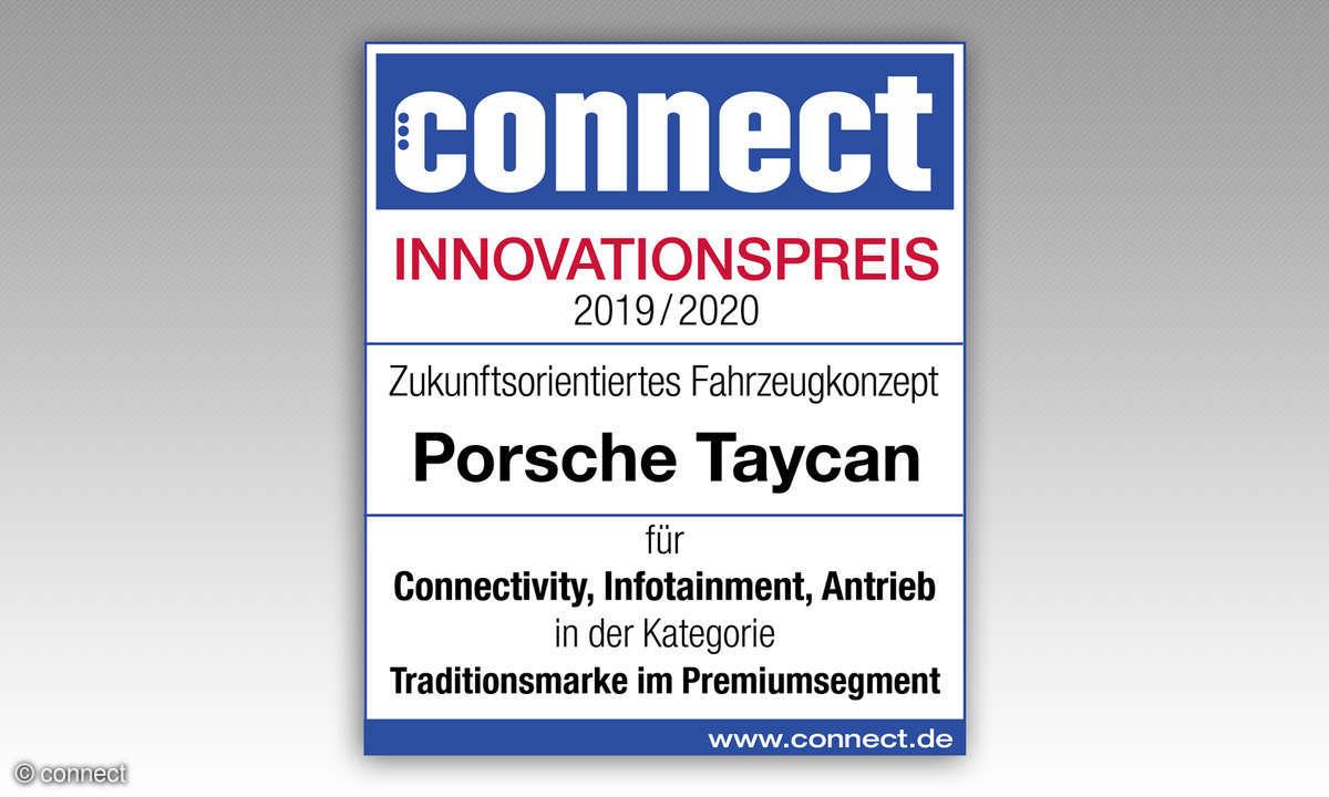 Porsche Taycan IAA 2019 Innovationspreis