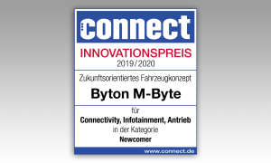 Byton M-Byte IAA 2019 Innovationspreis