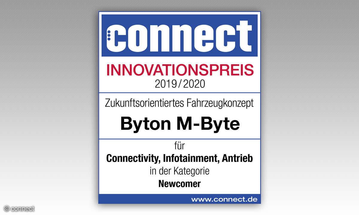 Byton M-Byte IAA 2019 Innovationspreis