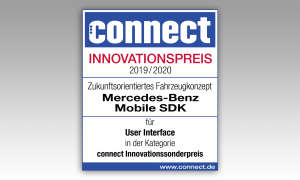 Mercedes-Benz-Mobile SDK IAA-2019 Innovationspreis