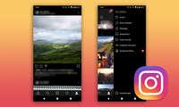 instagram dark mode android update