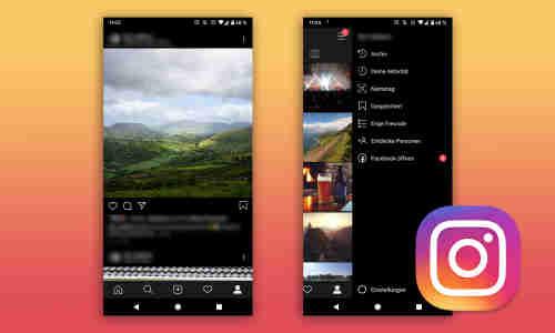 Instagram Dark Mode Einstellen Android