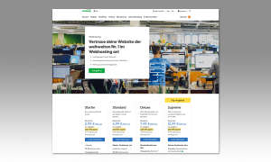 Webhosting-Anbieter 2019: GoDaddy