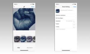Instagram Bild bearbeiten