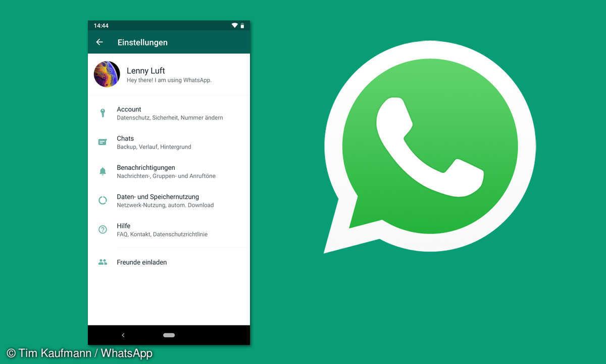 WhatsApp Account sperren