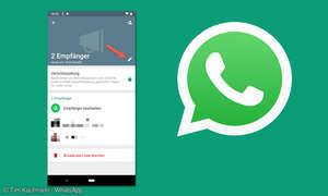 WhatsApp Broadcast Liste
