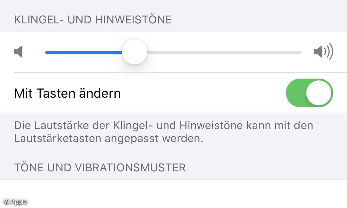 iOS 13 Einstellungen