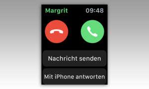 Apple Watch Anruf