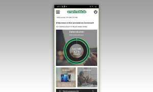 Screen: Smartmobil Servicewelt