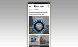 Screen: Yourfone Servicewelt