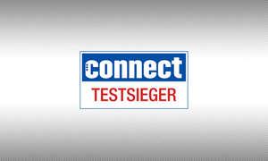 Testsiegel connect Testsieger