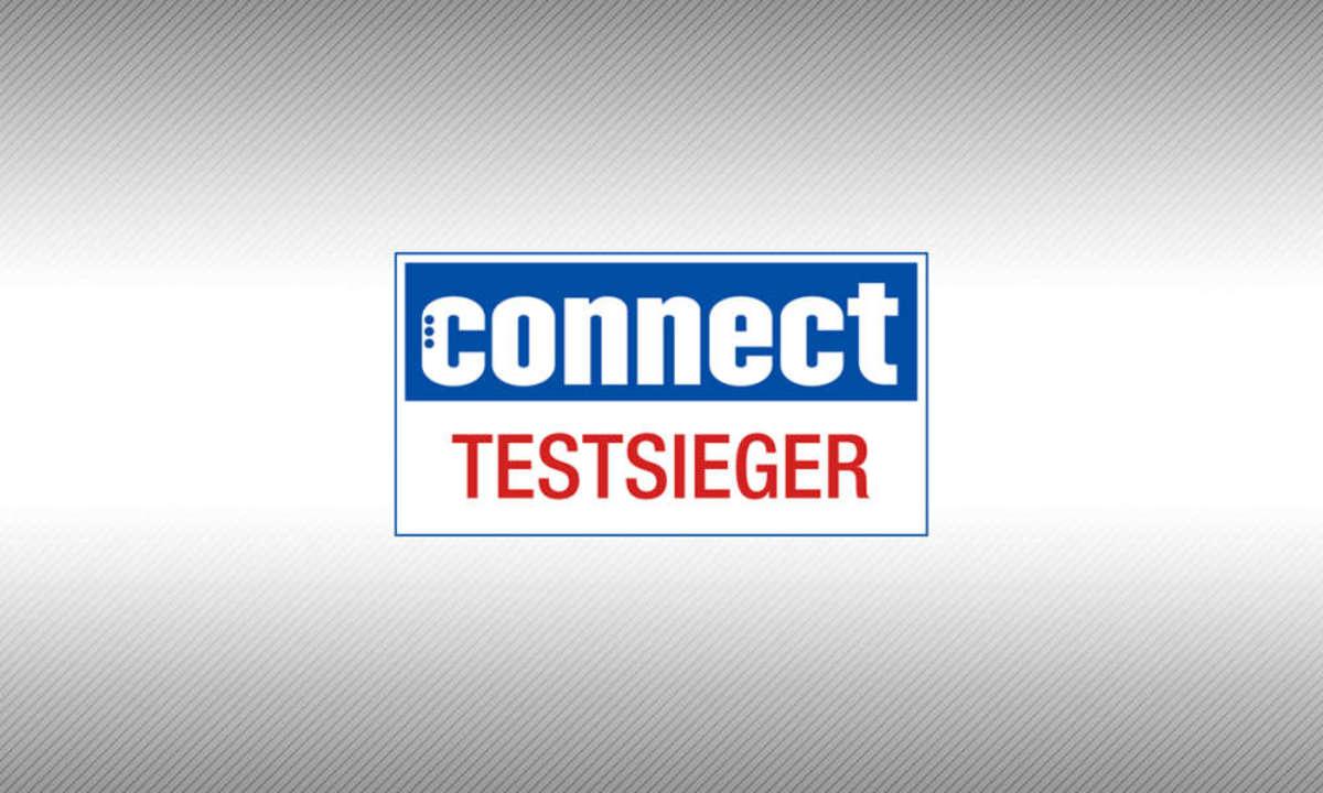 Testsiegel connect Testsieger